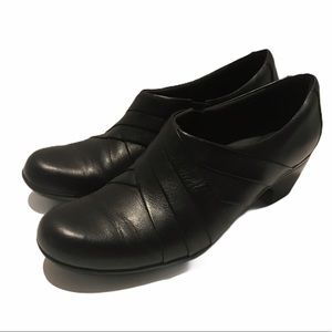 Clark's Collection Black Comfort Bootie  9.5